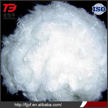 Polyester wadding penetration resistant white color polyester fdy for filling material use