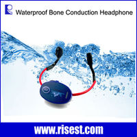 Bone Conduction Throat Microphone with Walkie Talkie for Swimmer and Coach
