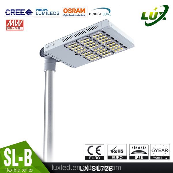 Hot sell Adjustable 150W Module LED Street Light for Outdoor Road Lighting