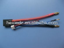 banana plug golden connector wire harness
