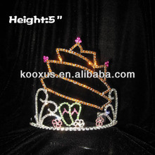 Slipper And flower Summer Sun Pageant Crowns