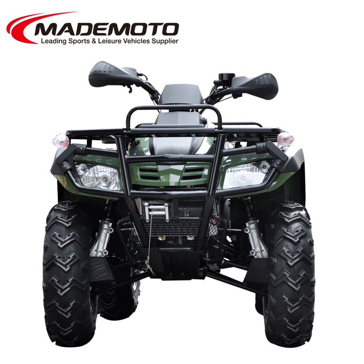 300cc electric start 4x4 gas ATV up-to-date stying
