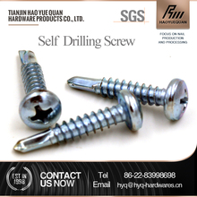 Philips pan head self drilling tek screw direct buy from china