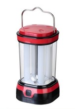 8 LED Camping Lantern/ Tent Light with Light Tube Powered by 3AA