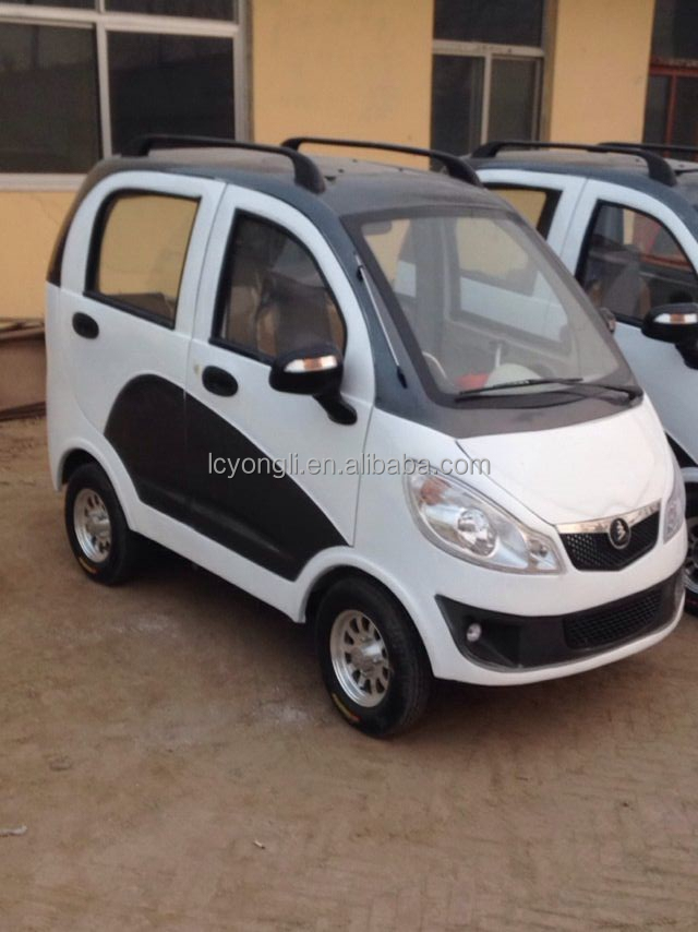 cheap 4wd electric cars for sale /solar electric car