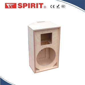 Plywood birch, 18 mm thick (B/B quality) 15 inch wooden empty speaker box cabinets for sale RCF CLUB 15 HP