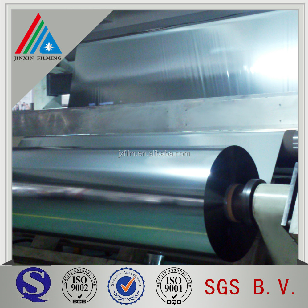 vacuum forming metallized PET film for thermoforming