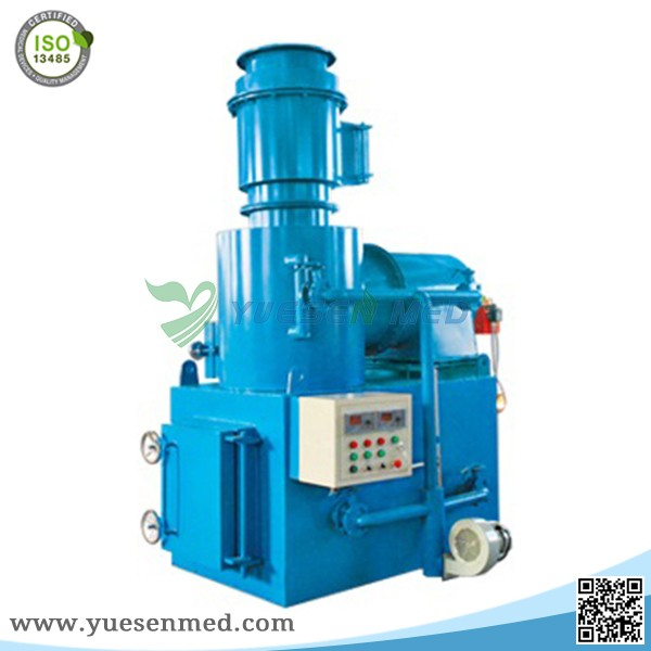 hospital smokeless garbage electronic poultry incinerator