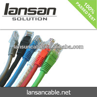 LANSAN High speed factory price cat6 patch cord for nexans