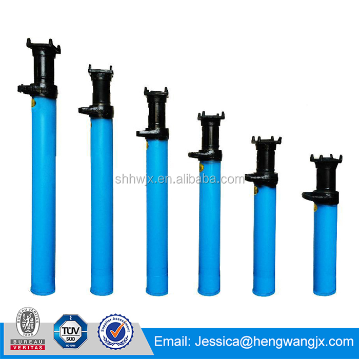 Mining machinery individual hydraulic prop durable material external injection single hydraulic prop