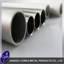 Fully stocked decorative stainless steel pipe tube tapered