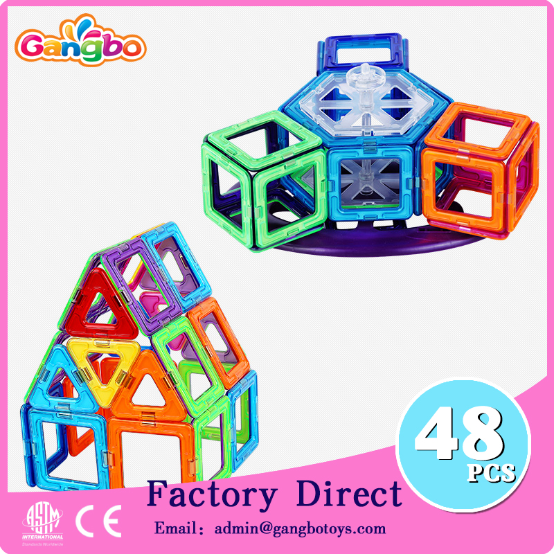 48pcs Educational magnetic toy