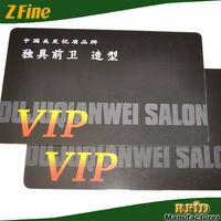 unique design hair salon business card