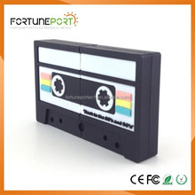 Cassette USB Drive Popular Hot Selling Wholesale Items Birthday Gifts USB Flash Drive 1gb 2gb 3gb 4gb 8gb 16gb