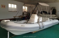 best rigid hull used inflatable fiberglass fishing boat for sale