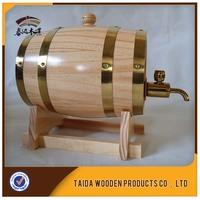 Customiz 3L Oak Liquor Wine Christmas Gift Bar Hotel Sets Wooden Barrel