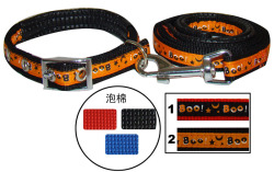 Soft Foam yiwu wholesale dog collars and leashes sets for pet dog C1320
