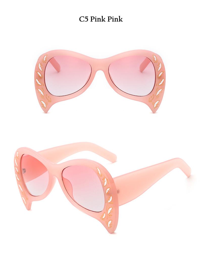 Rimless Cat Eye Sunglasses (16)