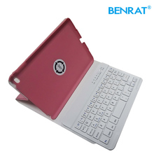 New design Wireless Bluetooth Keyboard with Leather Case for universal Tablet PC