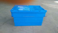 Cheap price durable plastic turnover box/distribution containers