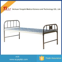 Professional Medical Bed Manufacturer Hospital Flat clinic patient Bed for sale