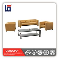 Modern Leather Sofa Set for Living Room/Office SJ559