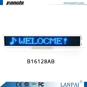 Customized LED display scrolling message sign board advertising board for shop