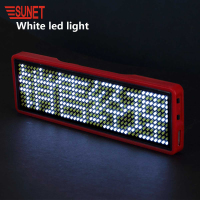 YELLOW Mini LED Scrolling Message Sign Board Led Light Display Advertising Board