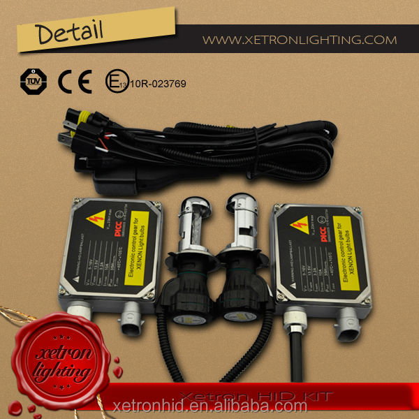 Super vision electric outboard conversion xenon hid kit h7 h13 H4 auto bulb 35w 6000k 8000K for Car Headlamp accessories