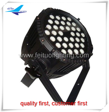 IP65 par led 36x3w rgb 3in1 color changing outdoor rgb dmx light