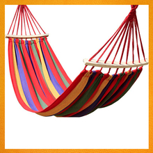 SS-086 High Quality Leisure Ways Hammock For Travel Protable Nylon Double Round Camping Hammock