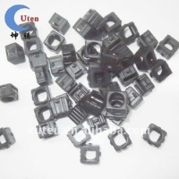 Black Customed Molded Silicon Rubber Components