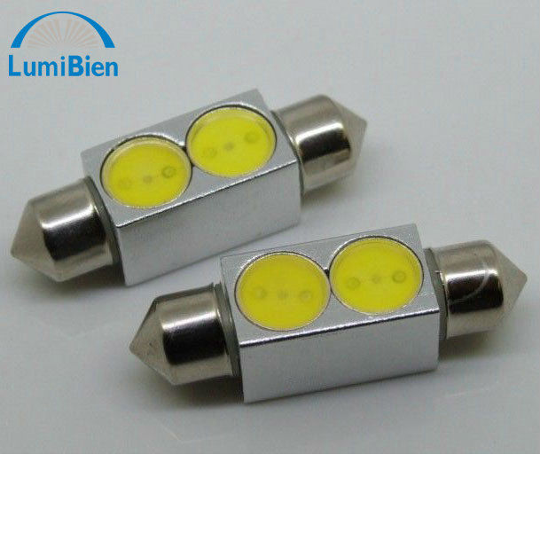 2w festoon roof dome led lens lampe car led lights bulbs bulb light auto lamp lamps long life time small order ok CE certificate