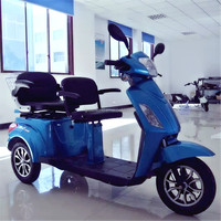 eec electric tricycle for 2 person disabled electric scooter