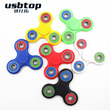 new hand Tri-Spinner Fidget Toy Plastic EDC Sensory Fidget Spinners For Autism and ADHD Kids/Adult Funny Stress Toys