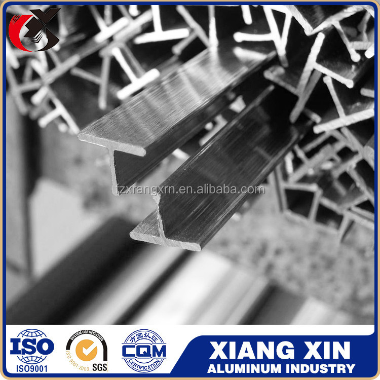 high quality triangle h aluminum extrusion profile for fence