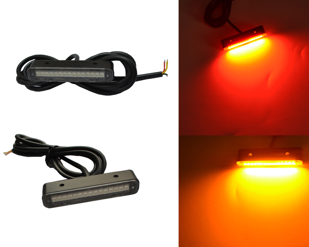 Super Bright 15SMD motorcycle LED license plate lights 12v led lights motorcycle