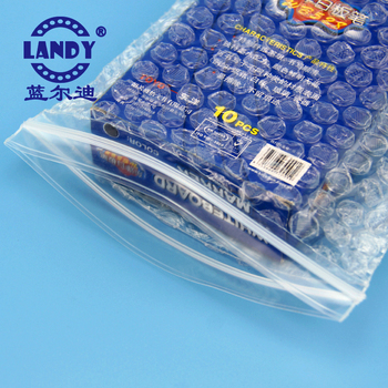 white poly bubble bag with zip envelope packaging zip a5 plastic poly zipper,front lock mailer white