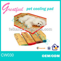 latest bamboo pet cooling pad for cool their body for sale