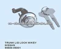Trunk lid lock with key FOR Nissan