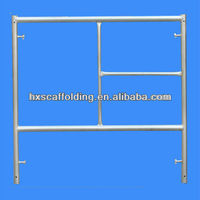construction frame scaffolding slab supporting