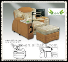Guangzhou Flyfashion OF-62 health care furniture/comfortable electric body care foot massage fabric sofa chair