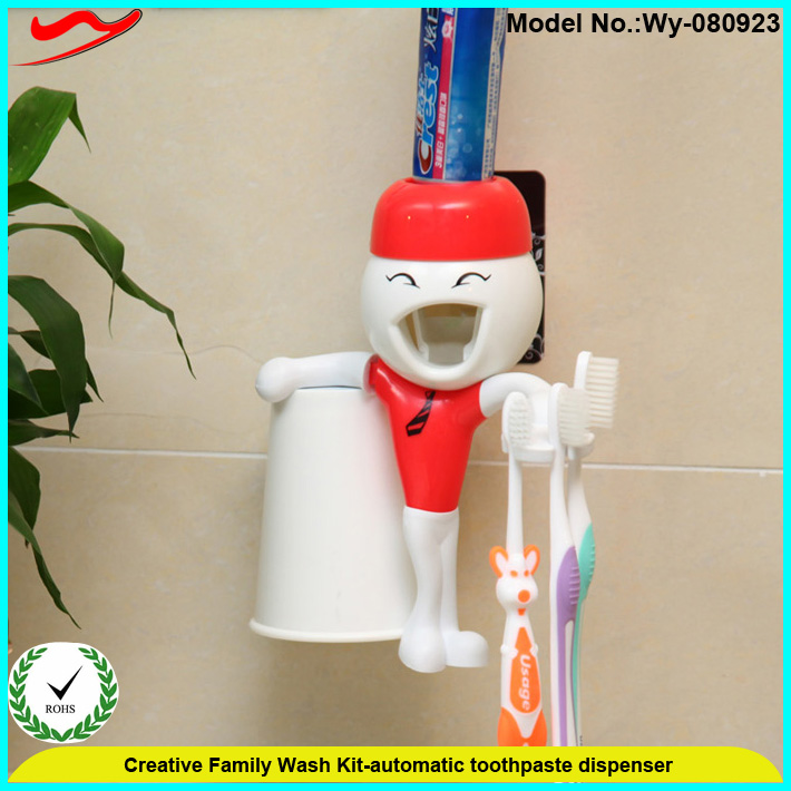Innovative Family wash kit colgate toothpaste dispenser promotional Wy-080923Q