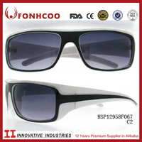 FONHCOO Chinese Products Sold Sport Style White Bicycle Motorcycle Sunglasses