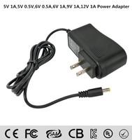 5v 6v 9v 12v 0.5a 1a 1.5a 2a 2.5a 3a 4a AC DC adapter 12v power adaptor