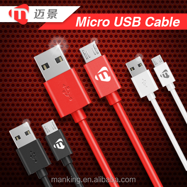 Professional Manufacturer Wholesales Micro USB Cable Multi Charger Date Cable For samsung galaxy a3 2016