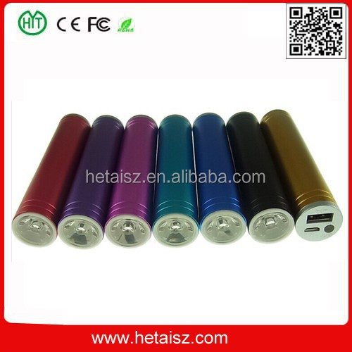 external storage battery, good price portable 2600mah usb power bank mini so, led torch light power bank for restaurant