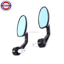 "7/8"" Handlebar Side end Mirrors Rearview Mirrors Cruisers Choppers Motorcycle accessories Street Bikes Aluminum Stem"