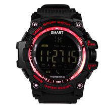 Smart Watch EX16 Xwatch Sports Bluetooth 4.0 5ATM Waterproof IP67 Smartwatch Wristband Stopwatch Alarm Clock LONG TIME STANDBY