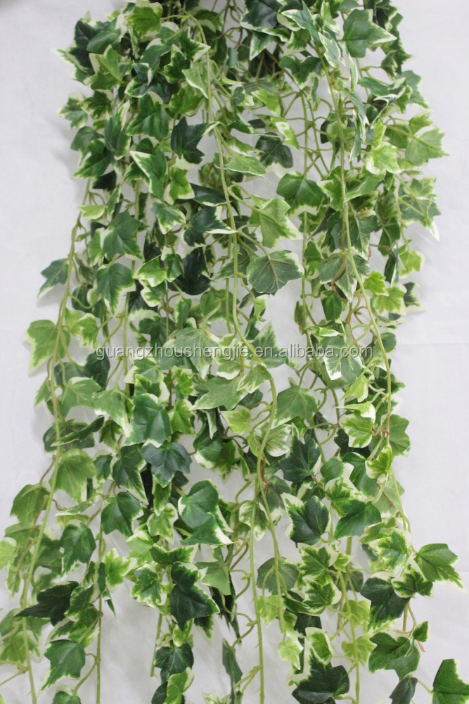 CHY600910Artificial decorativ gardenhanging plant ivy garland/Fake foliage Leaf Garland